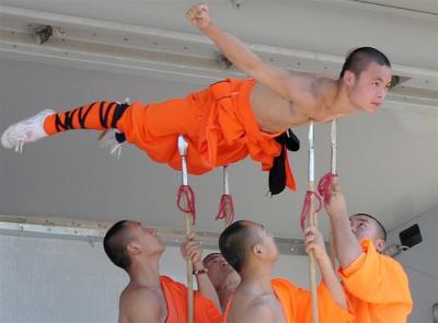 Monjes Shaolin: vida,entrenamiento.